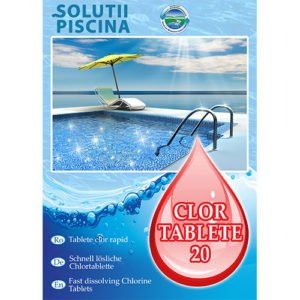 Clor soc tablete 20g